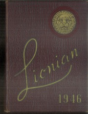 1946 Edition, Lincoln High School - Lionian Yearbook (Canton, OH)