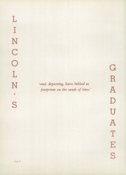 Page 12, 1948 Edition, Lincoln High School - Lionian Yearbook (Canton, OH) online yearbook collection