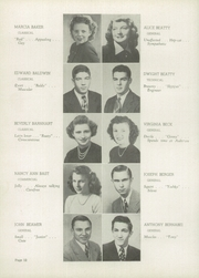 Page 16, 1948 Edition, Lincoln High School - Lionian Yearbook (Canton, OH) online yearbook collection