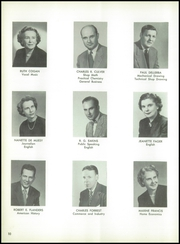 Page 14, 1954 Edition, Lincoln High School - Lionian Yearbook (Canton, OH) online yearbook collection