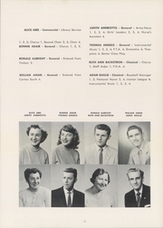 Page 17, 1957 Edition, Lincoln High School - Lionian Yearbook (Canton, OH) online yearbook collection