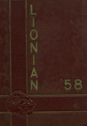 1958 Edition, Lincoln High School - Lionian Yearbook (Canton, OH)