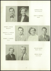 Page 14, 1952 Edition, Mariemont High School - Chieftain Yearbook (Mariemont, OH) online yearbook collection
