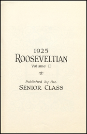 Page 7, 1925 Edition, Roosevelt High School - Teddy Memory Yearbook (Dayton, OH) online yearbook collection