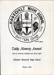 Page 5, 1968 Edition, Roosevelt High School - Teddy Memory Yearbook (Dayton, OH) online yearbook collection