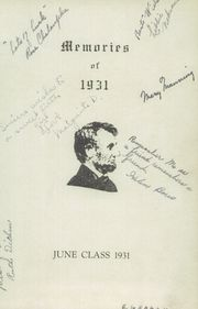 Page 3, 1931 Edition, Lincoln High School - Yearbook (Cleveland, OH) online yearbook collection