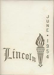 1954 Edition, Lincoln High School - Lincolnia Yearbook (Cleveland, OH)