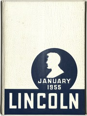 1955 Edition, Lincoln High School - Lincolnia Yearbook (Cleveland, OH)