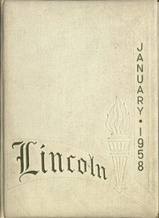 1958 Edition, Lincoln High School - Lincolnia Yearbook (Cleveland, OH)