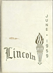 1959 Edition, Lincoln High School - Lincolnia Yearbook (Cleveland, OH)