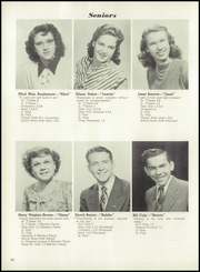 Page 14, 1949 Edition, Columbiana High School - Clipper Yearbook (Columbiana, OH) online yearbook collection