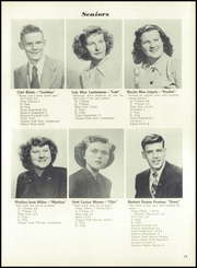 Page 17, 1949 Edition, Columbiana High School - Clipper Yearbook (Columbiana, OH) online yearbook collection
