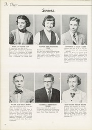 Page 10, 1953 Edition, Columbiana High School - Clipper Yearbook (Columbiana, OH) online yearbook collection