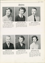 Page 11, 1953 Edition, Columbiana High School - Clipper Yearbook (Columbiana, OH) online yearbook collection