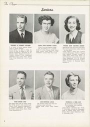 Page 12, 1953 Edition, Columbiana High School - Clipper Yearbook (Columbiana, OH) online yearbook collection