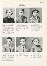Page 13, 1953 Edition, Columbiana High School - Clipper Yearbook (Columbiana, OH) online yearbook collection