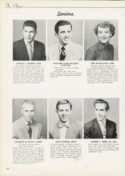 Page 14, 1953 Edition, Columbiana High School - Clipper Yearbook (Columbiana, OH) online yearbook collection
