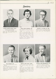 Page 15, 1953 Edition, Columbiana High School - Clipper Yearbook (Columbiana, OH) online yearbook collection