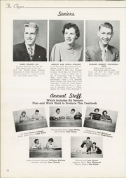 Page 16, 1953 Edition, Columbiana High School - Clipper Yearbook (Columbiana, OH) online yearbook collection