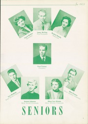 Page 9, 1953 Edition, Columbiana High School - Clipper Yearbook (Columbiana, OH) online yearbook collection