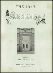 Page 5, 1947 Edition, Barnesville High School - Senrab Yearbook (Barnesville, OH) online yearbook collection