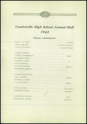 Page 12, 1923 Edition, Loudonville High School - Annual Yearbook (Loudonville, OH) online yearbook collection