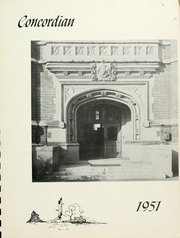 Page 7, 1951 Edition, Concordia College - Concordian Yearbook (Bronxville, NY) online yearbook collection