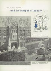 Page 10, 1957 Edition, Mother of Mercy High School - Mercywood Yearbook (Cincinnati, OH) online yearbook collection