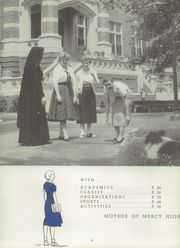 Page 4, 1957 Edition, Mother of Mercy High School - Mercywood Yearbook (Cincinnati, OH) online yearbook collection