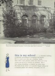 Page 8, 1957 Edition, Mother of Mercy High School - Mercywood Yearbook (Cincinnati, OH) online yearbook collection