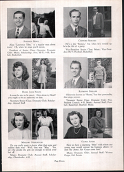 Page 15, 1945 Edition, Madeira High School - Mnemonic Yearbook (Madeira, OH) online yearbook collection