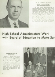 Page 12, 1954 Edition, Madeira High School - Mnemonic Yearbook (Madeira, OH) online yearbook collection