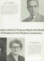 Page 13, 1954 Edition, Madeira High School - Mnemonic Yearbook (Madeira, OH) online yearbook collection