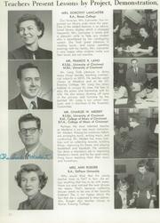 Page 16, 1954 Edition, Madeira High School - Mnemonic Yearbook (Madeira, OH) online yearbook collection