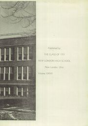 Page 3, 1951 Edition, New London High School - Wildcat Yearbook (New London, OH) online yearbook collection