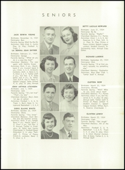 Page 15, 1952 Edition, New London High School - Wildcat Yearbook (New London, OH) online yearbook collection