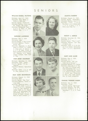 Page 16, 1952 Edition, New London High School - Wildcat Yearbook (New London, OH) online yearbook collection
