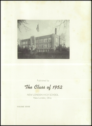 Page 5, 1952 Edition, New London High School - Wildcat Yearbook (New London, OH) online yearbook collection