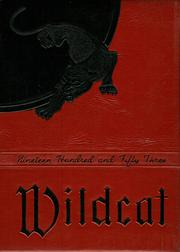 1953 Edition, New London High School - Wildcat Yearbook (New London, OH)