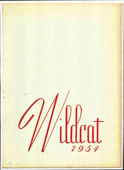 1954 Edition, New London High School - Wildcat Yearbook (New London, OH)