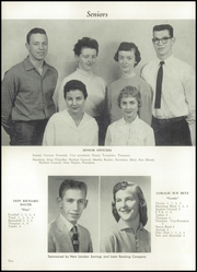 Page 14, 1958 Edition, New London High School - Wildcat Yearbook (New London, OH) online yearbook collection