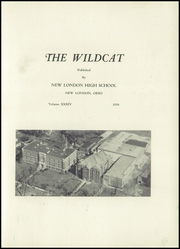 Page 5, 1958 Edition, New London High School - Wildcat Yearbook (New London, OH) online yearbook collection