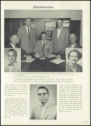 Page 7, 1958 Edition, New London High School - Wildcat Yearbook (New London, OH) online yearbook collection