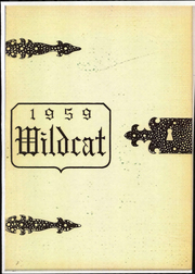 1959 Edition, New London High School - Wildcat Yearbook (New London, OH)