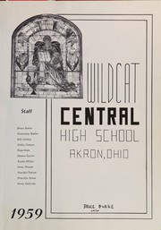 Page 5, 1959 Edition, Akron Central High School - Wildcat Yearbook (Akron, OH) online yearbook collection