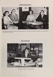 Page 9, 1959 Edition, Akron Central High School - Wildcat Yearbook (Akron, OH) online yearbook collection