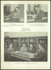 Page 10, 1951 Edition, Montpelier High School - Mirror Yearbook (Montpelier, OH) online yearbook collection