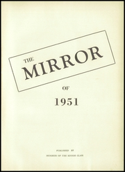 Page 5, 1951 Edition, Montpelier High School - Mirror Yearbook (Montpelier, OH) online yearbook collection