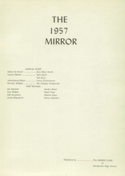 Page 5, 1957 Edition, Montpelier High School - Mirror Yearbook (Montpelier, OH) online yearbook collection