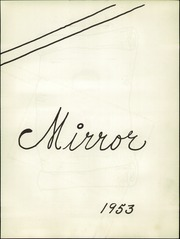 Page 7, 1953 Edition, Fredericktown High School - Mirror Yearbook (Fredericktown, OH) online yearbook collection